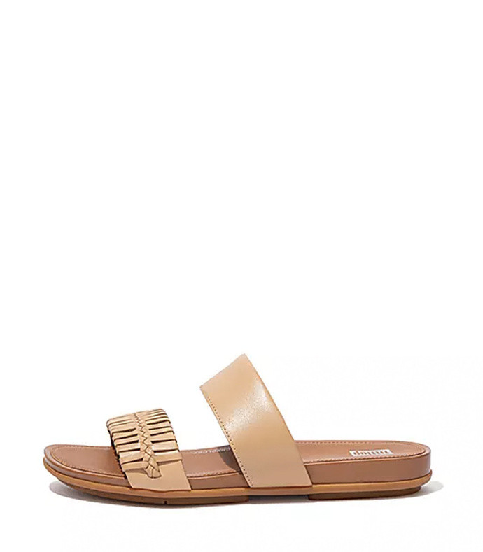 gracie wrapped-weave slides