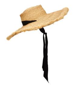 ultra wide ventura straw wide-brim hat