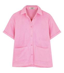 the montenegro pink terrycloth shirt