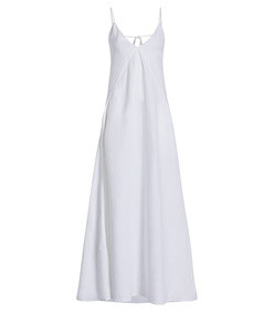 seamed slip dress