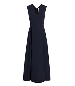 v-neck sun dress