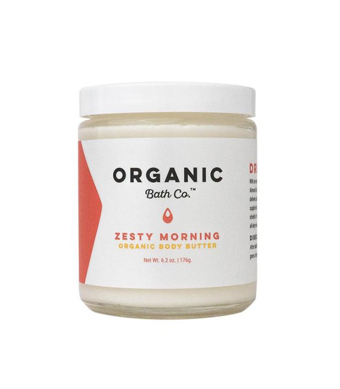 zesty morning organic body butter