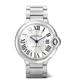 ballon bleu de cartier 36.6mm stainless steel watch