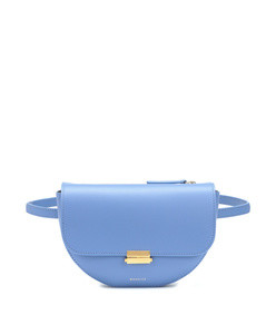 anna buckle leather belt bag