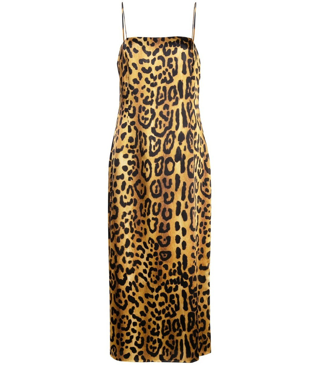 Adam Lippes Leopard Cami Dress