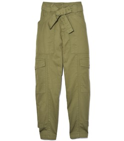 washed expedition pant in army olive