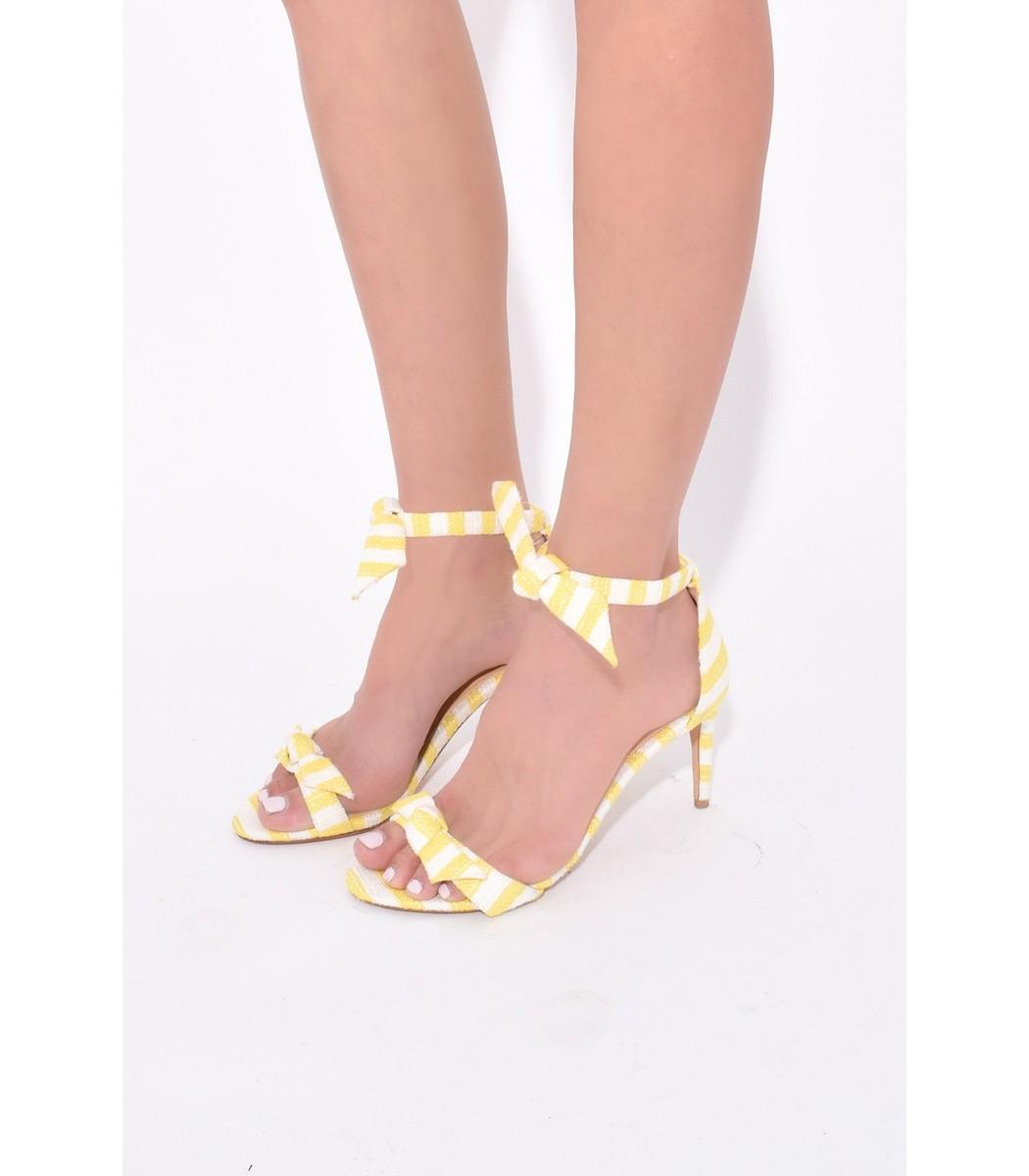 8b15854b008 Alexandre Birman Clarita Heel in Sunflower - ShopBAZAAR