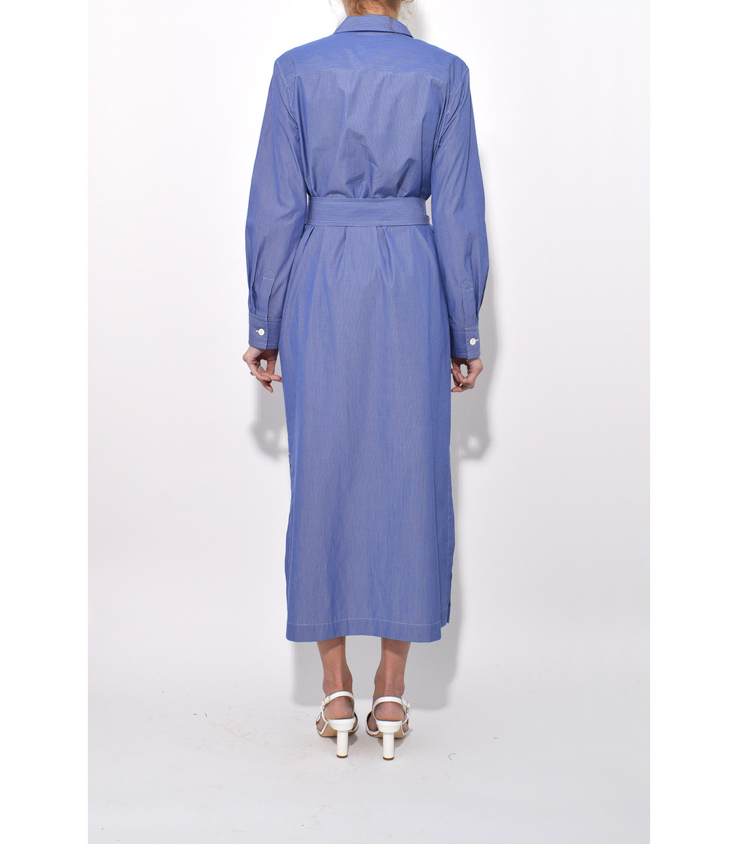 Millie dress - Blue A.P.C. Free Shipping Official Site Geniue Stockist Cheap Enjoy Discount Official 7Jo82TV4