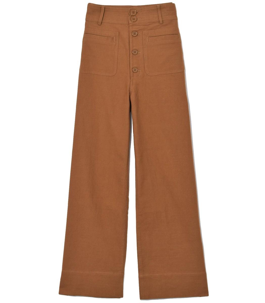 APIECE APART Marston Pant in Cinnamon