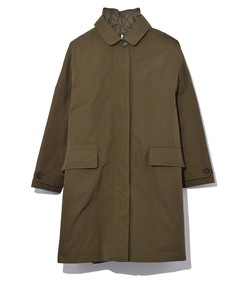 technical cotton coat in military