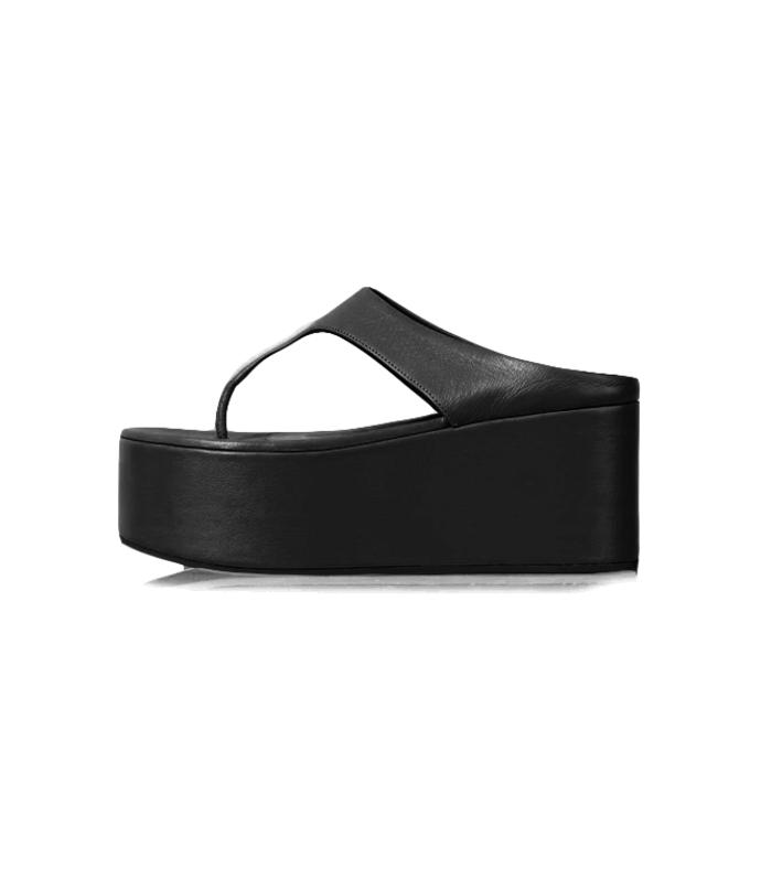 coaster thong in black