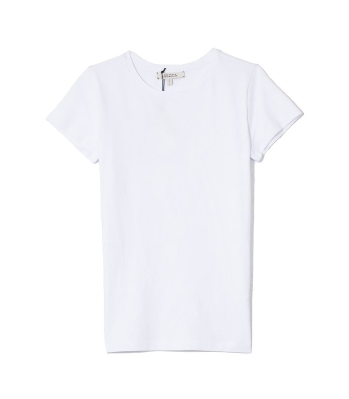 all time favorites shirt in pure white