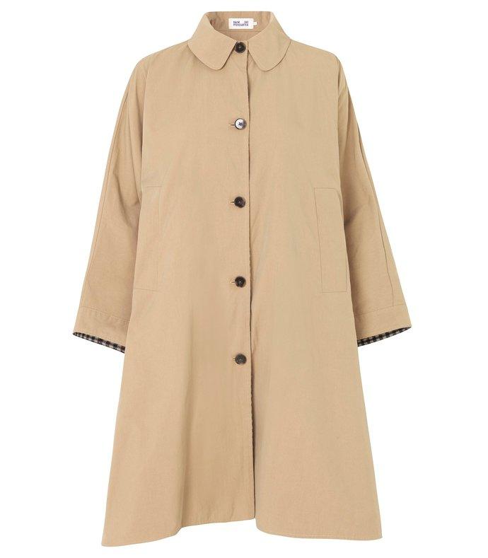 darlow jacket in brown/blue