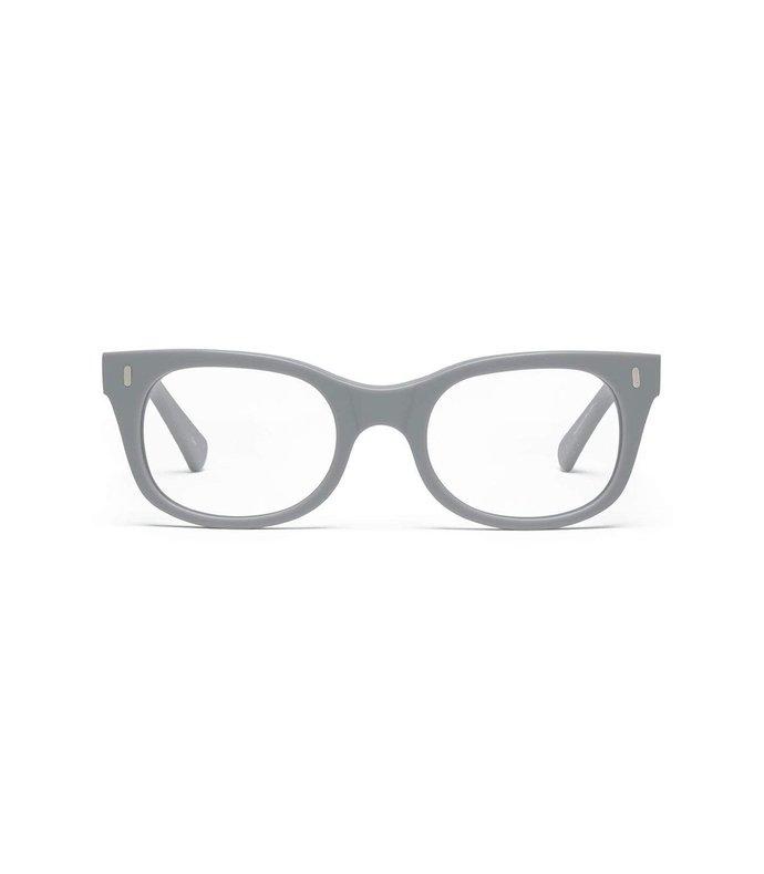 bixby glasses in matte putty grey