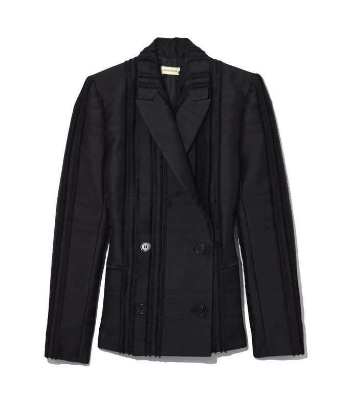 rivali blazer in black