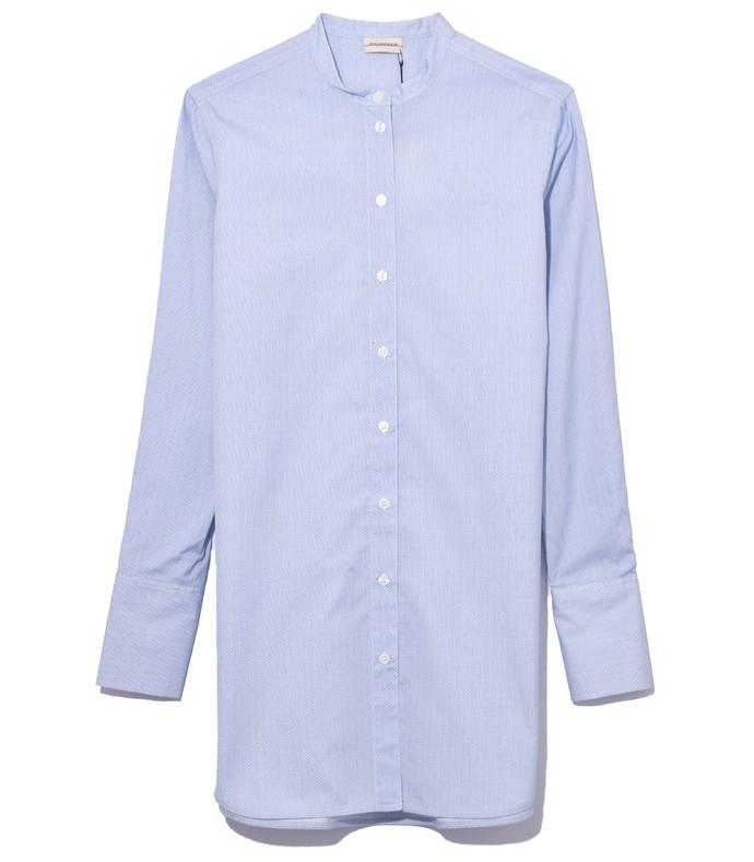 sabara top in pastel blue