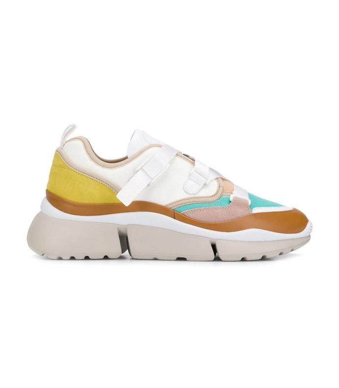 bright multicolor sonnie low-top sneaker