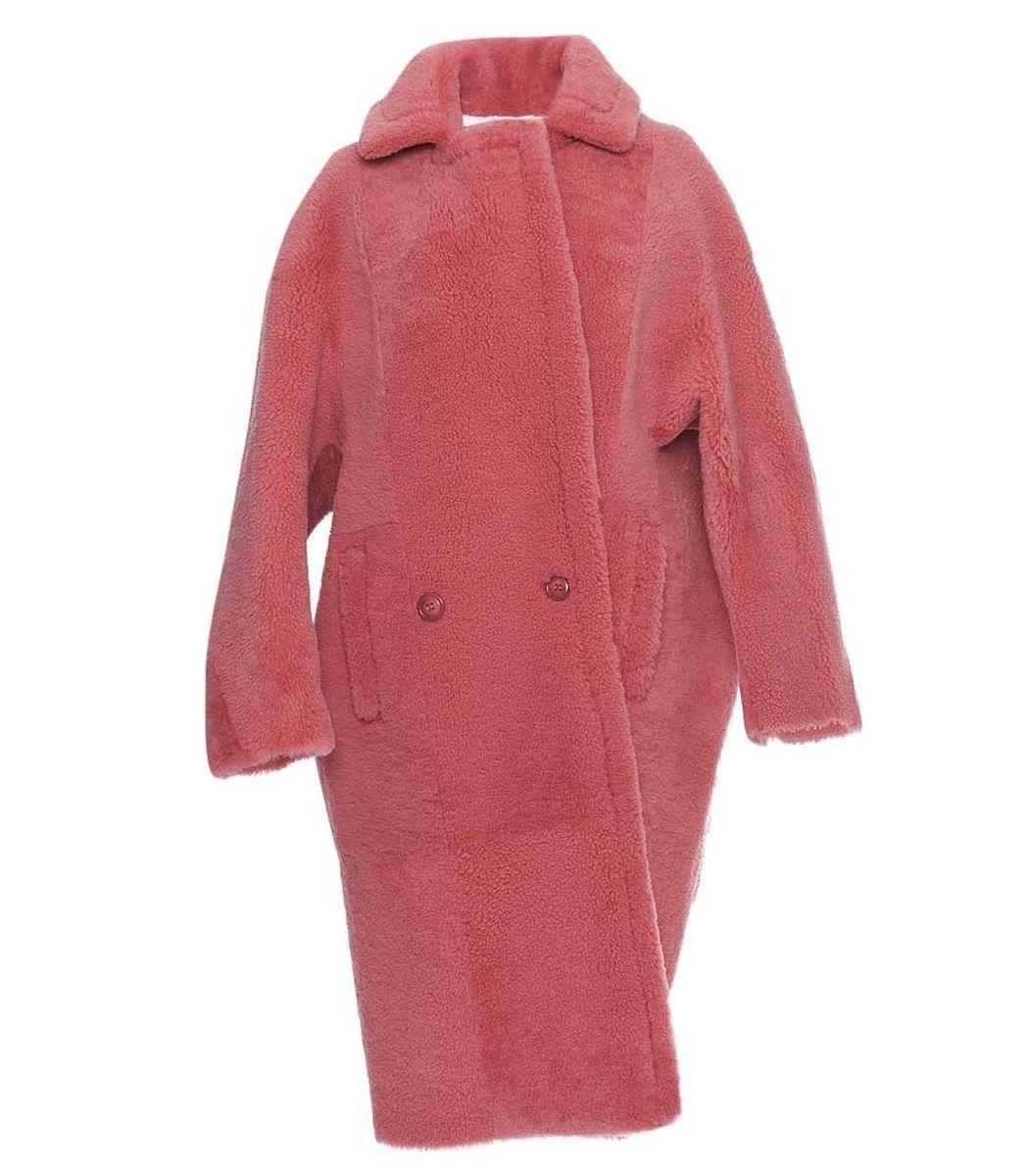 ANNE VEST Pink Coze Coat