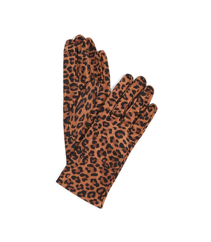 leopard print gloves