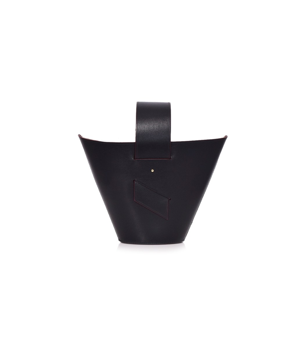 Black/Rust Amphora Bag