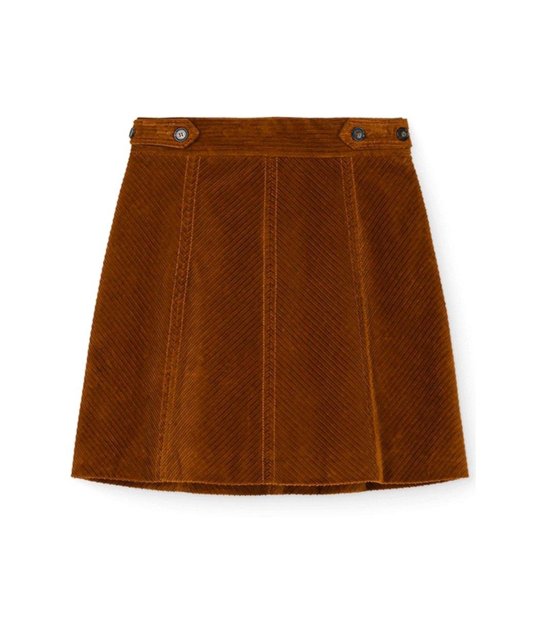 Vanessa Bruno Panpi Skirt in Caramel