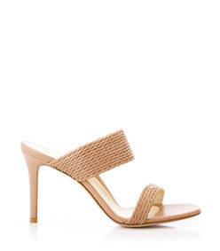 foxy heel in blush