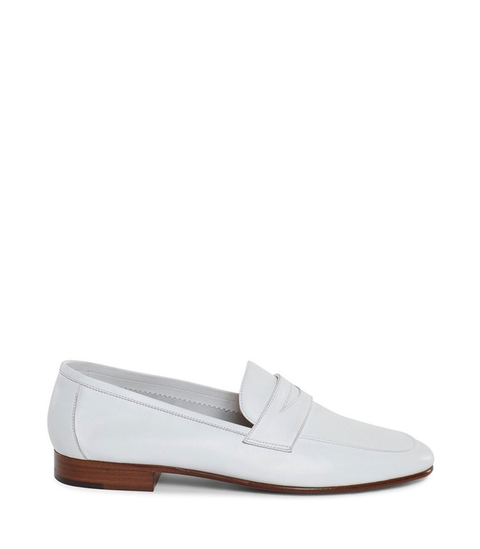 classic loafer in white