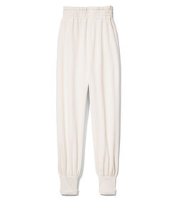 jogger pant in ivory