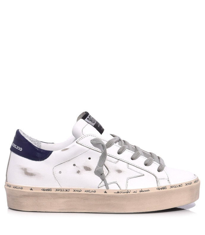 hi star sneaker in white/blue