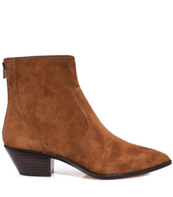 brown cacao joni bootie