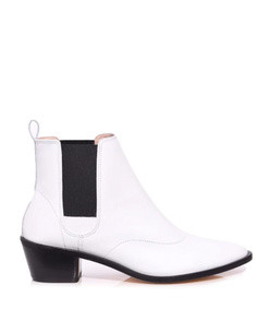 auguste boot in blanc