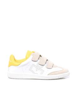 beth sneaker in yellow