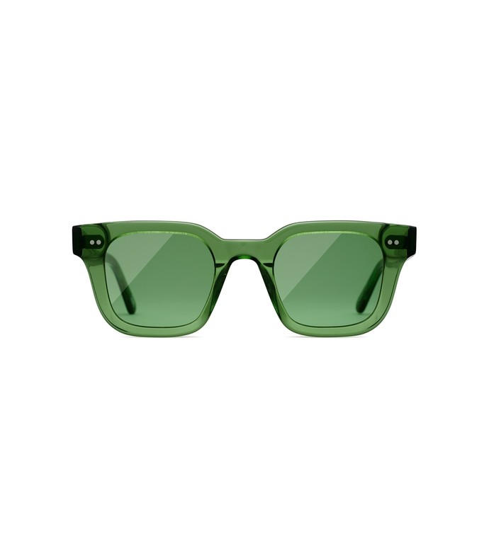 #004 clear sunglasses in kiwi