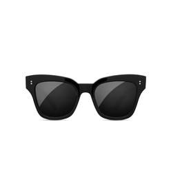 #005 black sunglasses in berry