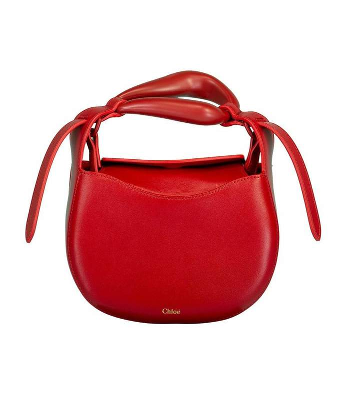 red crush kiss small purse