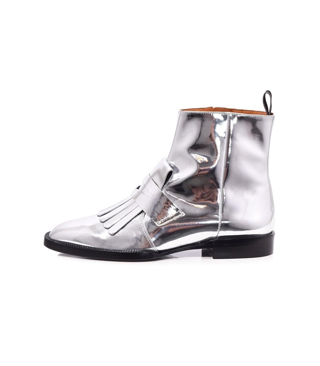Yousc Boot in Silver