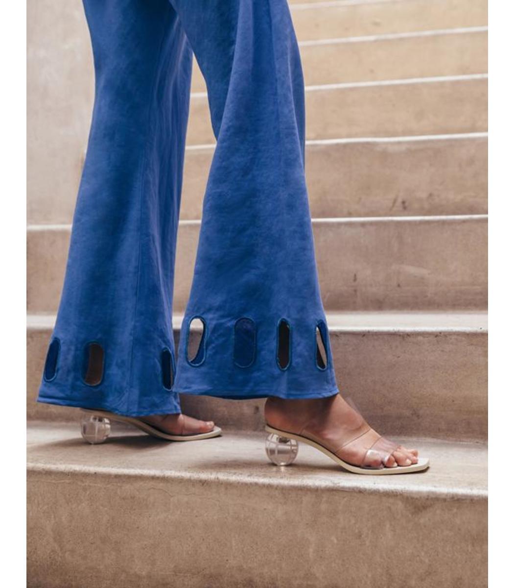CULT GAIA Leathers Jila Grid Heel