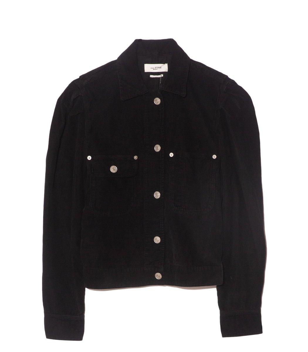 ETOILE ISABEL MARANT Jolanav Jacket in Faded Black