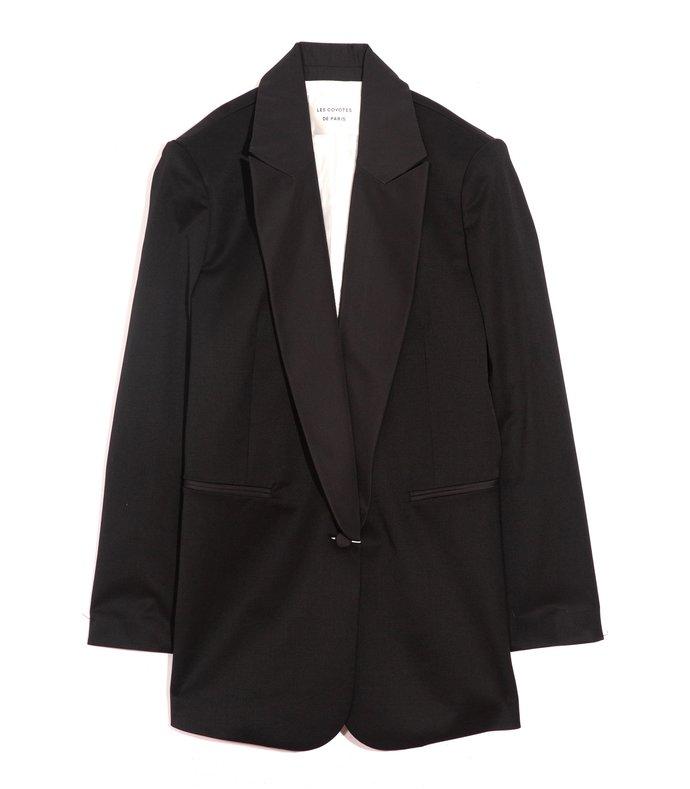 bess jacket in noir