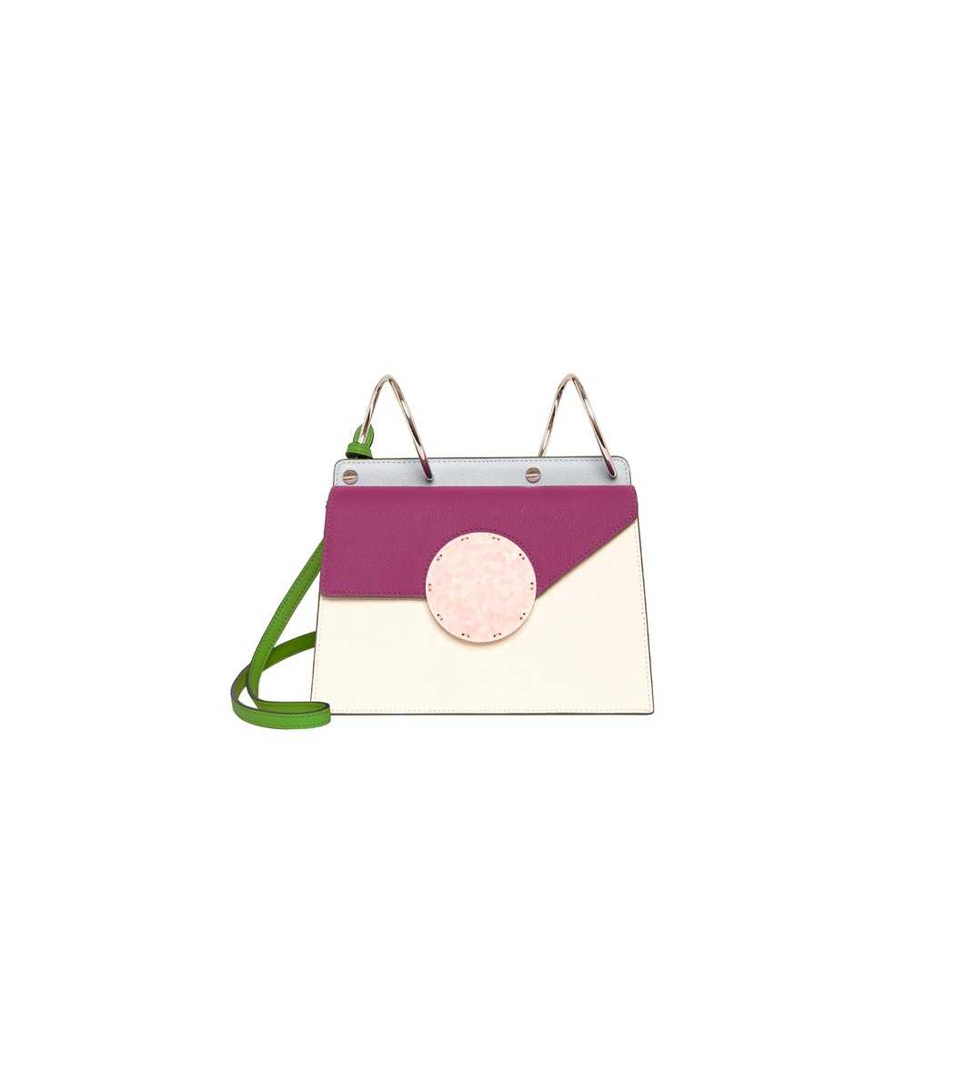 Phoebe Bis Bag In Cotton/Magenta