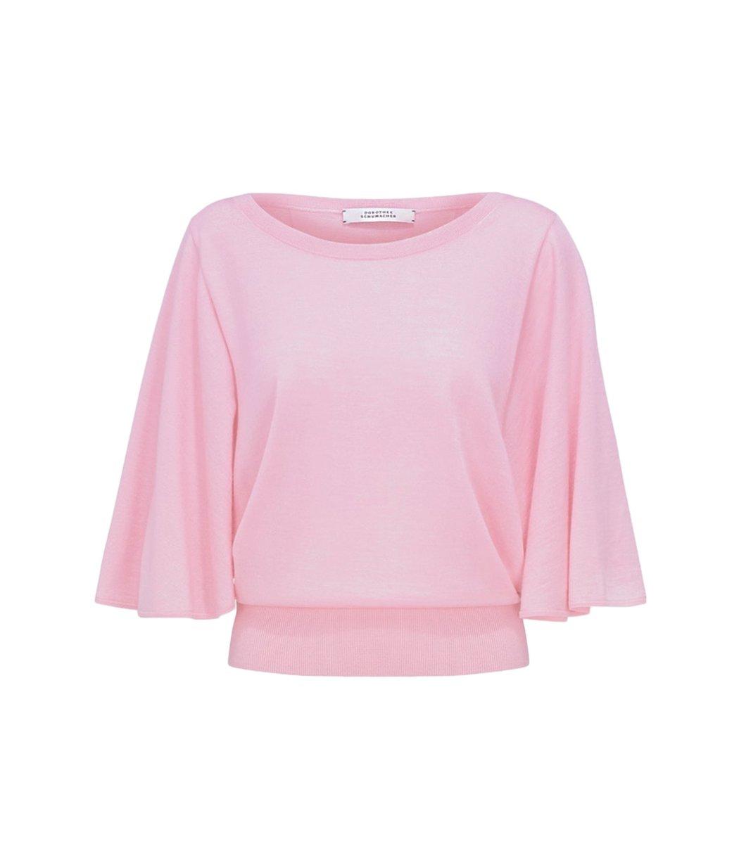 Dorothee Schumacher Surprising Attitude Tee in Baby Pink