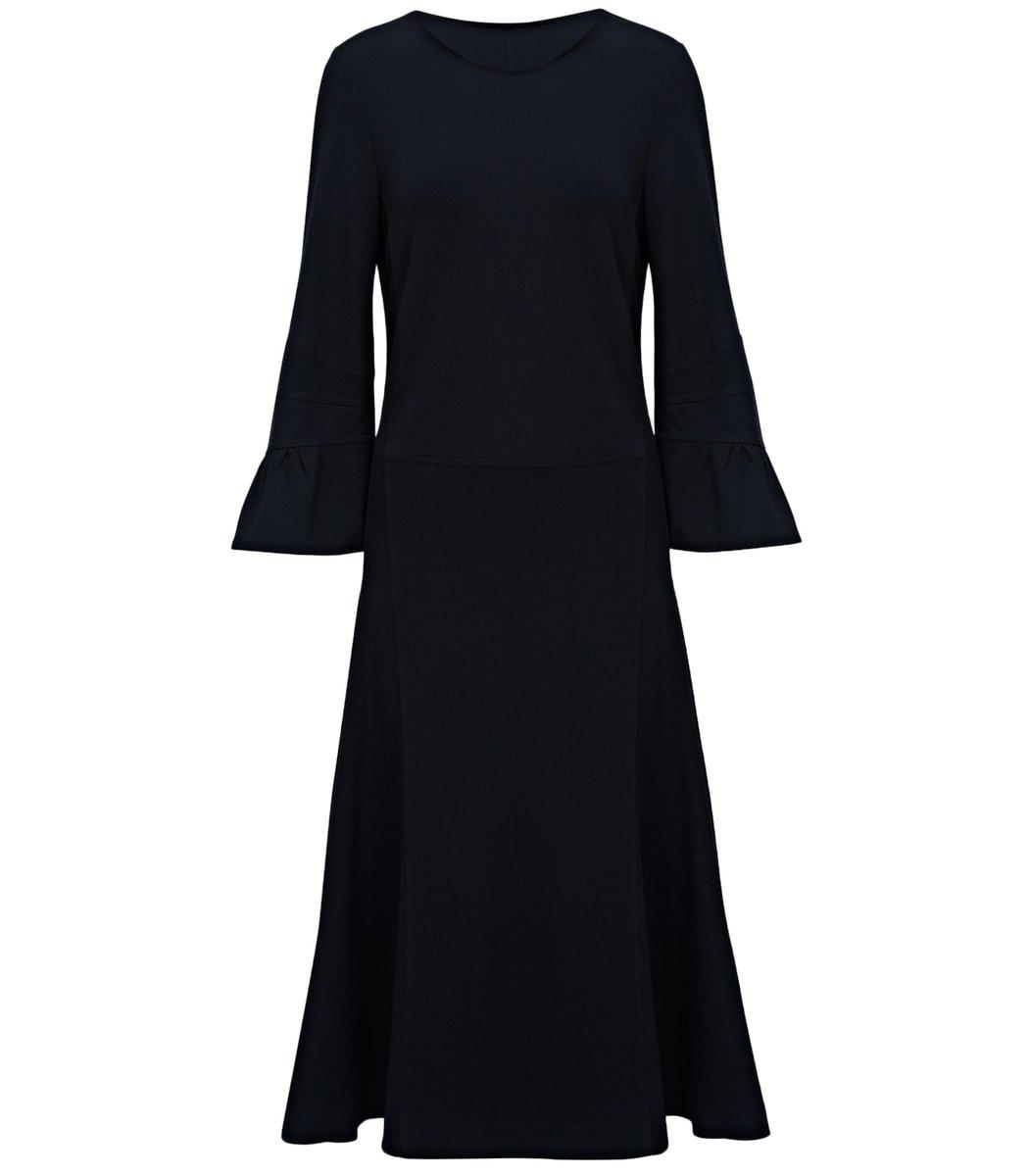Dorothee Schumacher Dresses City Allure Dress in Pure Black