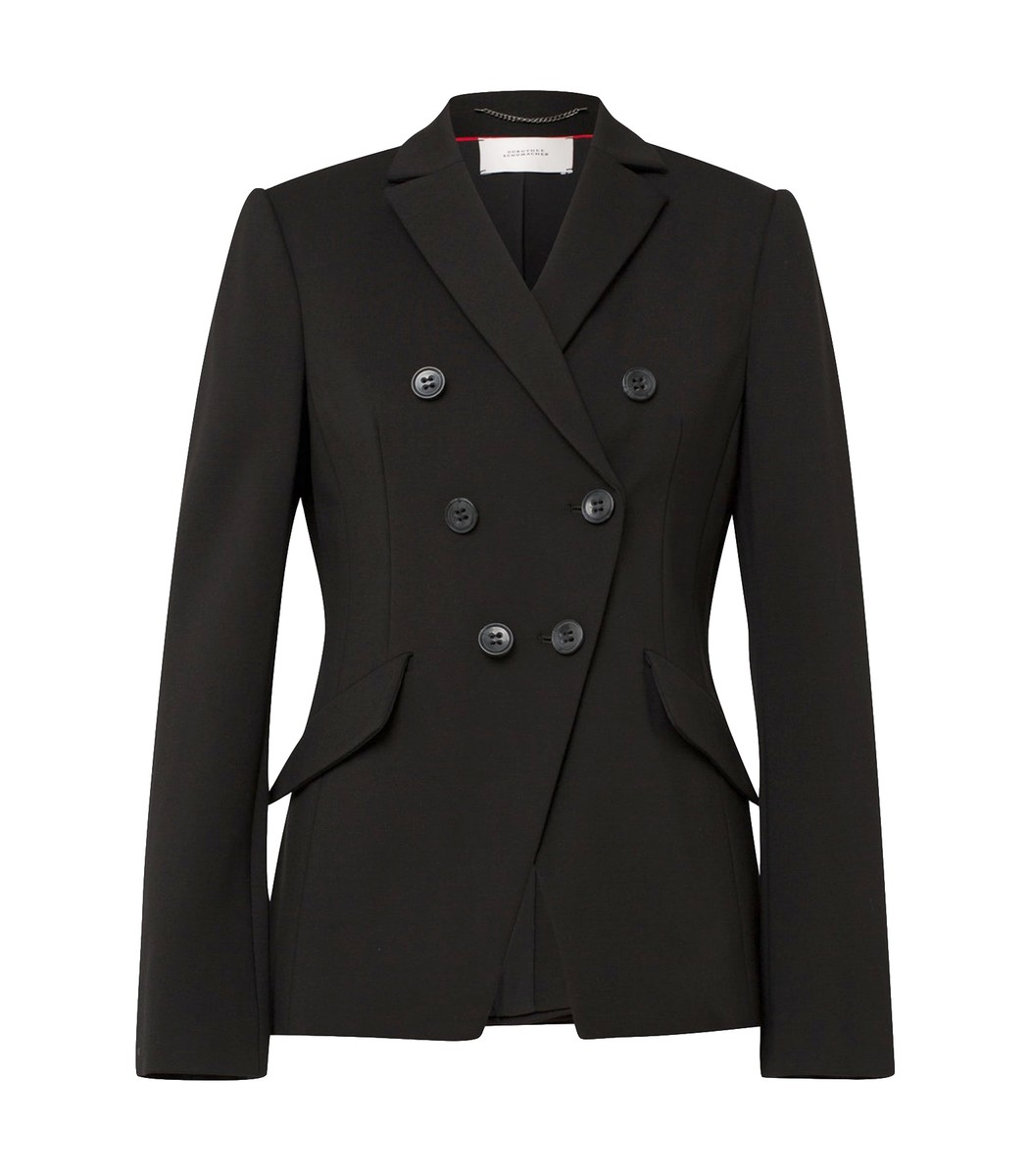 Dorothee Schumacher Pure Black Emotional Essence Blazer