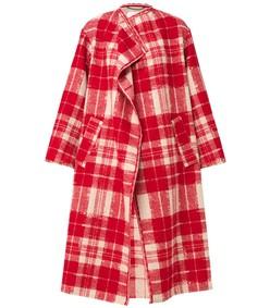 red check immortal coat