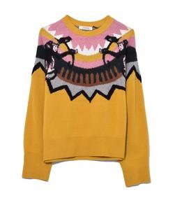 multicolor warm honey wild wonder pullover