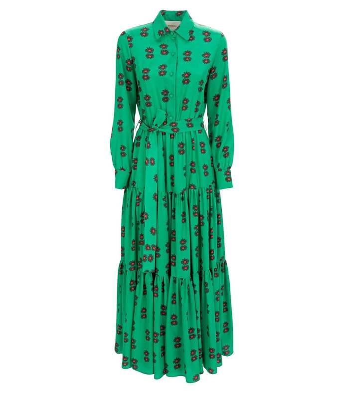 floral bellini maxi dress