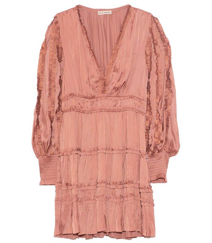 gemma dress in copper