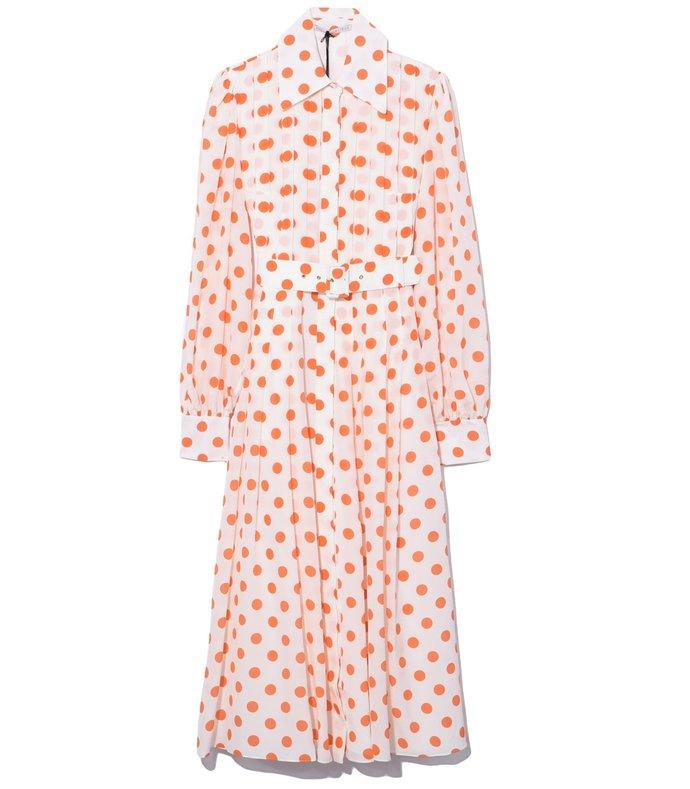 anatola dress in polka dot