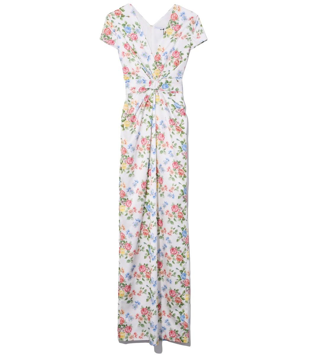 Emilia Wickstead Beatrice Dress in Soft Roses