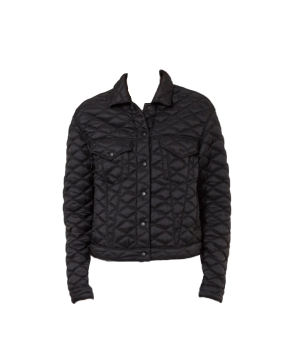 Rta Erika Quilted Silk Bomber